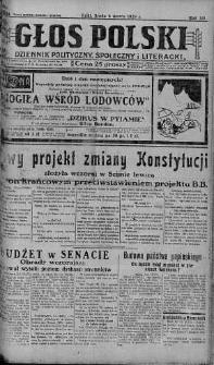 Głos Polski : dziennik polityczny, społeczny i literacki 6 marzec 1929 nr 64
