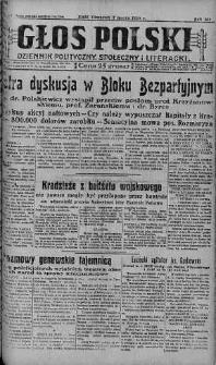 Głos Polski : dziennik polityczny, społeczny i literacki 7 marzec 1929 nr 65