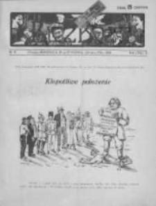 Bicz Boży. Tygodnik Satyryczno-Humorystyczny 1918, R. X, Nr 4