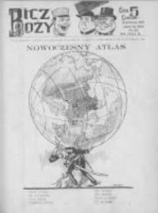 Bicz Boży. Tygodnik Satyryczno-Humorystyczny 1918, R. X, Nr 15