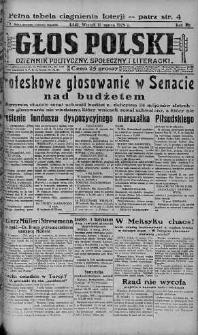 Głos Polski : dziennik polityczny, społeczny i literacki 12 marzec 1929 nr 70