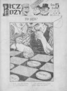 Bicz Boży. Tygodnik Satyryczno-Humorystyczny 1918, R. X, Nr 19