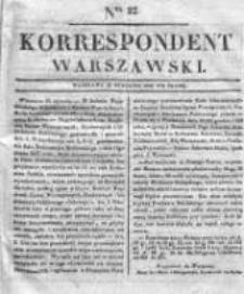 Korespondent, 1833, I, Nr 22