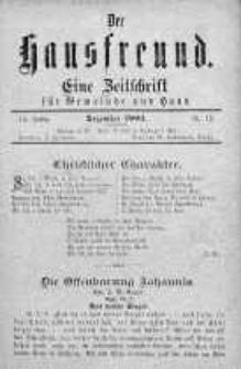 Der Hausfreund 1903 grudzień nr 12