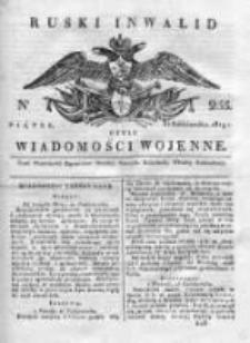Ruski inwalid czyli wiadomości wojenne 1819, Nr 255