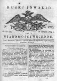 Ruski inwalid czyli wiadomości wojenne 1819, Nr 270