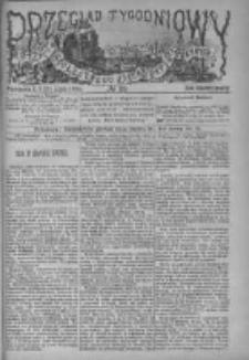 Przegląd Tygodniowy Życia Społecznego Literatury i Sztuk Pięknych 1884, R.IXX, Nr 29