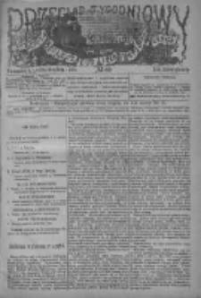 Przegląd Tygodniowy Życia Społecznego Literatury i Sztuk Pięknych 1884, R.IXX, Nr 52
