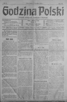 Godzina Polski : dziennik polityczny, społeczny i literacki 2 styczeń 1918 nr 2