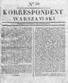 Korespondent, 1833, II, Nr 223