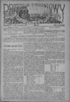 Przegląd Tygodniowy Życia Społecznego Literatury i Sztuk Pięknych 1885, R.XX, Nr 47