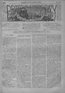 Przegląd Tygodniowy Życia Społecznego Literatury i Sztuk Pięknych 1886, R.XXI, Nr 5