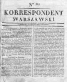 Korespondent, 1833, II, Nr 233