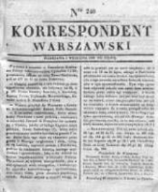 Korespondent, 1833, II, Nr 240