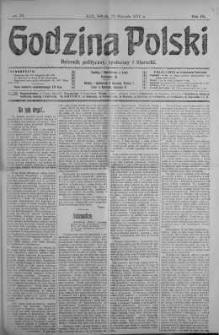 Godzina Polski : dziennik polityczny, społeczny i literacki 26 styczeń 1918 nr 26