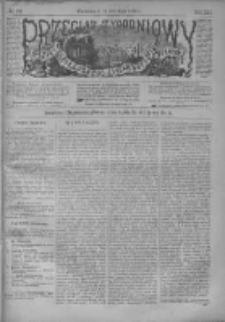 Przegląd Tygodniowy Życia Społecznego Literatury i Sztuk Pięknych 1886, R.XXI, Nr 22