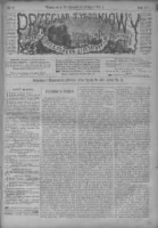Przegląd Tygodniowy Życia Społecznego Literatury i Sztuk Pięknych 1887, R.XXII, Nr 6