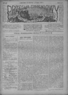 Przegląd Tygodniowy Życia Społecznego Literatury i Sztuk Pięknych 1887, R.XXII, Nr 28