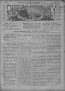 Przegląd Tygodniowy Życia Społecznego Literatury i Sztuk Pięknych 1887, R.XXII, Nr 40