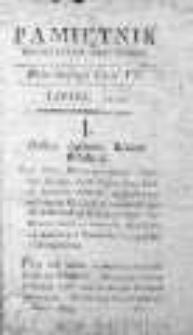 Pamiętnik Polityczny i Historyczny, 1787, m-c VII