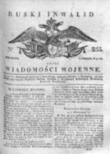 Ruski inwalid czyli wiadomości wojenne 1817, Nr 255