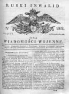 Ruski inwalid czyli wiadomości wojenne 1817, Nr 262