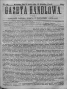 Gazeta Handlowa. Pismo poświęcone handlowi, przemysłowi fabrycznemu i rolniczemu, 1868, Nr 249