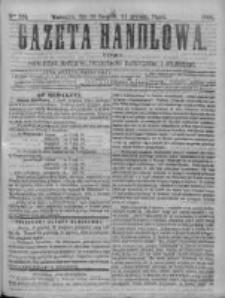 Gazeta Handlowa. Pismo poświęcone handlowi, przemysłowi fabrycznemu i rolniczemu, 1868, Nr 274