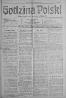 Godzina Polski : dziennik polityczny, społeczny i literacki 20 luty 1918 nr 50