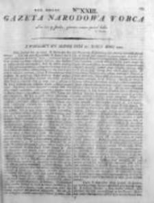 Gazeta Narodowa i Obca 1792, Nr 23