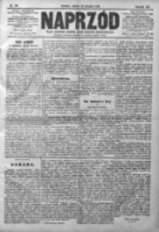 Naprzód. Czasopismo polityczne i społeczne. - Organ partyi socyal-demokratycznej 1910, R. XIX, Nr 184