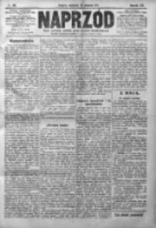 Naprzód. Czasopismo polityczne i społeczne. - Organ partyi socyal-demokratycznej 1910, R. XIX, Nr 196