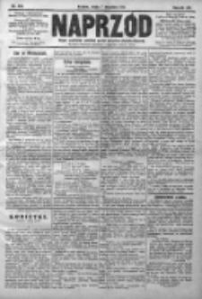 Naprzód. Czasopismo polityczne i społeczne. - Organ partyi socyal-demokratycznej 1910, R. XIX, Nr 204
