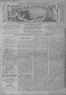 Przegląd Tygodniowy Życia Społecznego Literatury i Sztuk Pięknych 1895, R.XXX, Nr 1