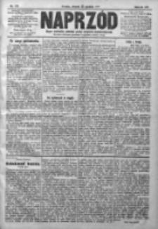 Naprzód. Czasopismo polityczne i społeczne. - Organ partyi socyal-demokratycznej 1910, R. XIX, Nr 291