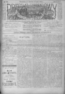 Przegląd Tygodniowy Życia Społecznego Literatury i Sztuk Pięknych 1898, R.XXXIII, Nr 28