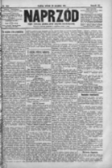 Naprzód. Czasopismo polityczne i społeczne. - Organ partyi socyal-demokratycznej 1911, R. XX, Nr 223