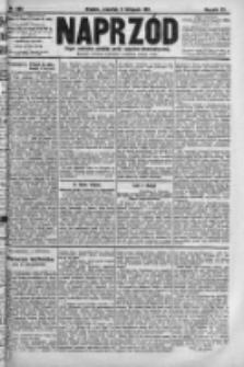 Naprzód. Czasopismo polityczne i społeczne. - Organ partyi socyal-demokratycznej 1911, R. XX, Nr 260