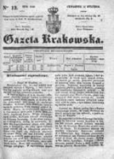 Gazeta Krakowska 1840, I, Nr 12