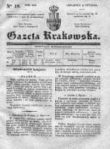 Gazeta Krakowska 1840, I, Nr 18