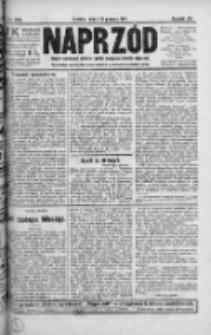 Naprzód. Czasopismo polityczne i społeczne. - Organ partyi socyal-demokratycznej 1911, R. XX, Nr 288