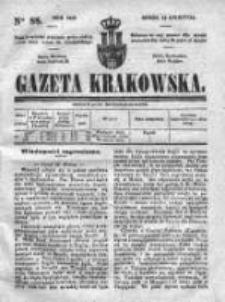 Gazeta Krakowska 1840, II, Nr 88