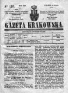 Gazeta Krakowska 1840, II, Nr 121