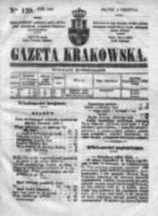 Gazeta Krakowska 1840, II, Nr 129