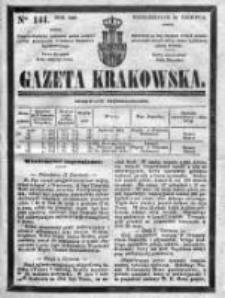 Gazeta Krakowska 1840, II, Nr 141