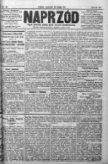 Naprzód. Czasopismo polityczne i społeczne. - Organ partyi socyal-demokratycznej 1911, R. XX, Nr 038
