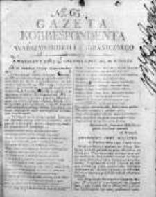 Korespondent Warszawski Donoszący Wiadomości Krajowe i Zagraniczne 1809, Nr 63