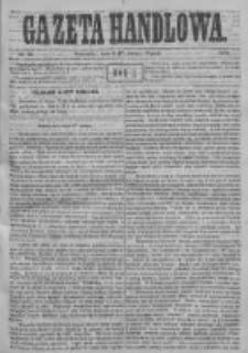 Gazeta Handlowa. Pismo poświęcone handlowi, przemysłowi fabrycznemu i rolniczemu, 1871, Nr 38