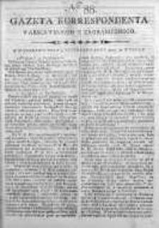 Gazeta Korrespondenta Warszawskiego y Zagranicznego 1800, Nr 88