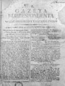 Korespondent Warszawski Donoszący Wiadomości Krajowe i Zagraniczne 1812, Nr 1